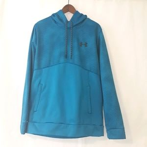 Under armour mens large fleece lined hoodie